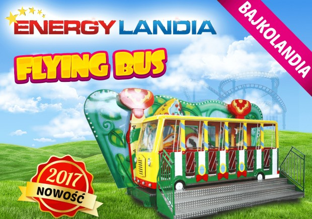 """Flying Bus"" 2017 neu in EnergyLandia"