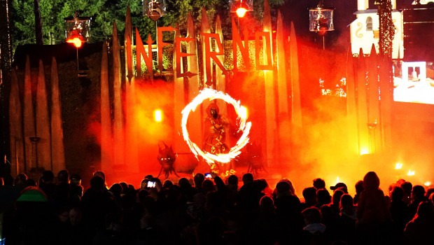 Fort Fear 2016 - Inferno Feuer Show