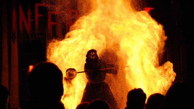 FORT FEAR 2016 - Inferno Show - Tod
