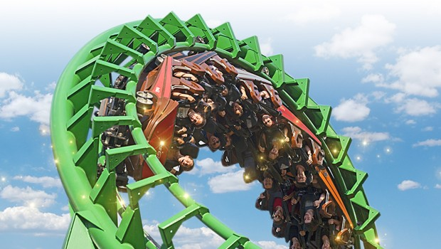 Gardaland - Magic Mountain Looping