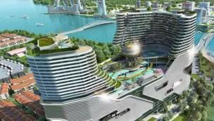 Harbour City in Malaysia entsteht: Freizeit-Komplex mit Wasser- und Vergnügungspark für 2019 geplant