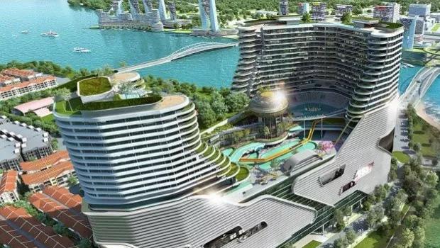 Harbour City Malaysia Gesamtaufnahme