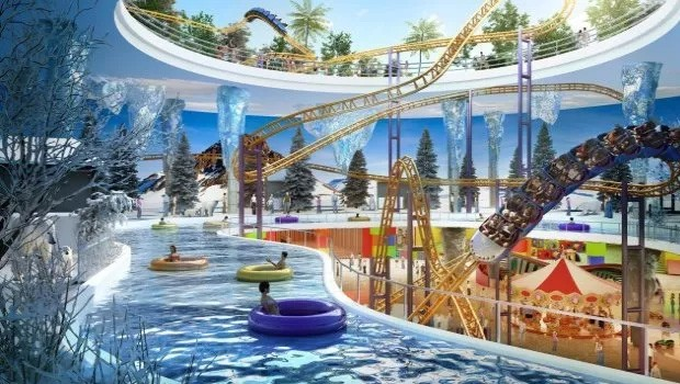 Harbour City Malaysia Wasserpark