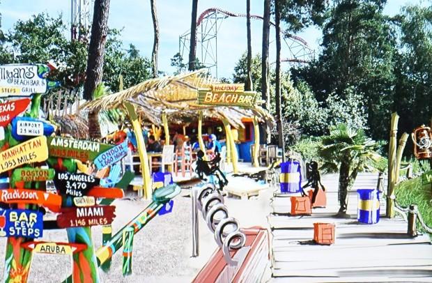 Holiday Park 2017 - Holiday Beach Club - Beach Bar Artwork