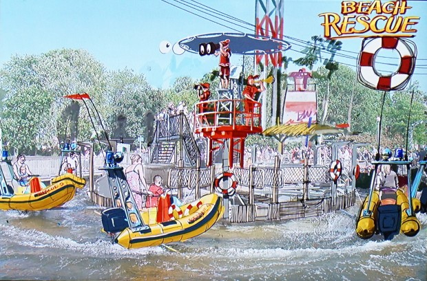 Holiday Park 2017 - Holiday Beach Club - Beach Rescue Artwork