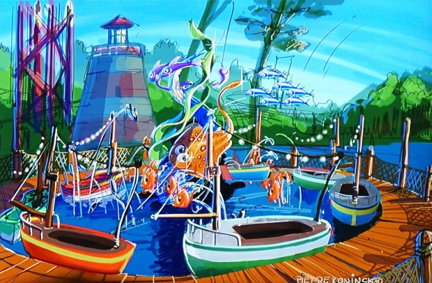 Holiday Park 2017 - Holiday Beach Club Bootsfahrt Artwork