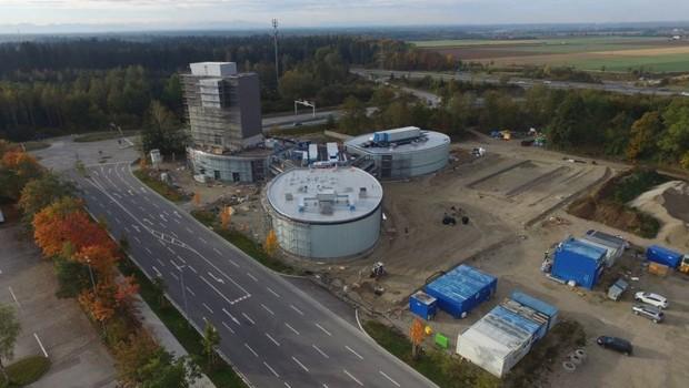 Jochen Schweizer-Arena im Oktober 2016