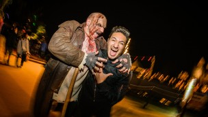 Jonas Blue beim Europa-Park Horror Glam 2016