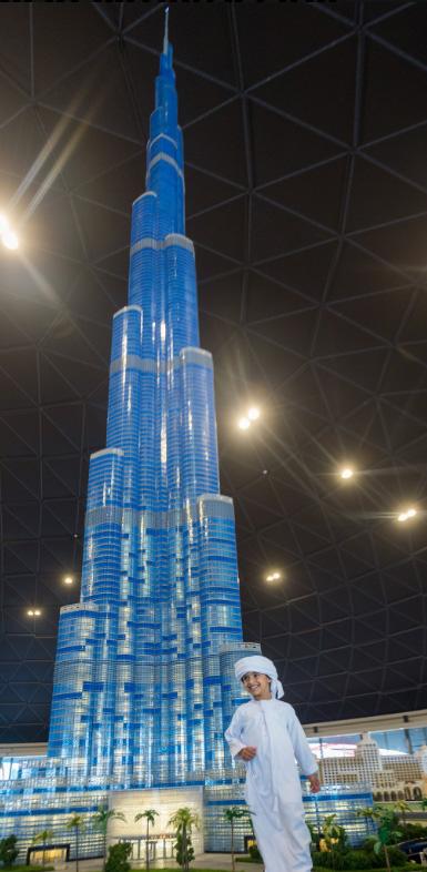 LEGO Burji Khalifa - LEGOLAND Dubai
