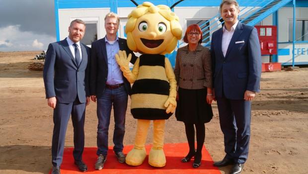 Majaland Polen im Holiday Park Kownaty - Baubeginn