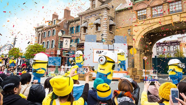 Minion-Show in Universal Studios Japan