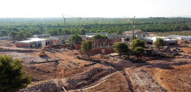 Mirnovec Park - Baustellenbild September 2016