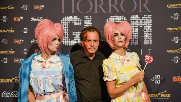 Monica Meier Ivancan beim Europa-Park Horror Glam 2016