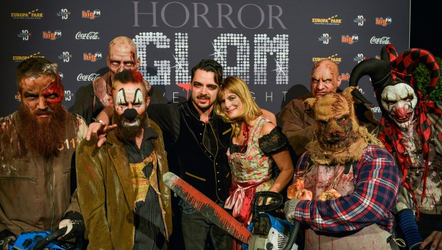 Nastassja Kinski und Ilja Russo beim Europa-Park Horror Glam 2016
