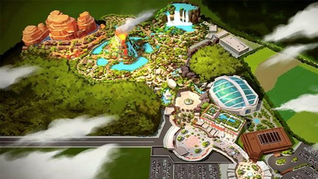 Nature Wonder World Entwurf