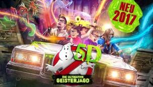 """Heide Park eröffnet 2017 """"Ghostbusters 5D"""": Neuheit wird interaktive Themenfahrt zum Geisterjagen"""