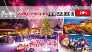 Phantasialand Wintertraum Tickets günstig 2016