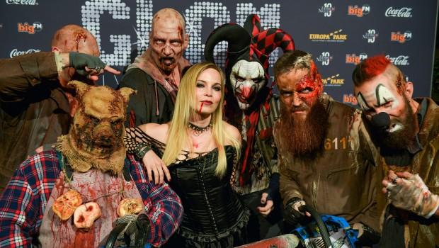 Regina Halmich beim Europa-Park Horror Glam 2016