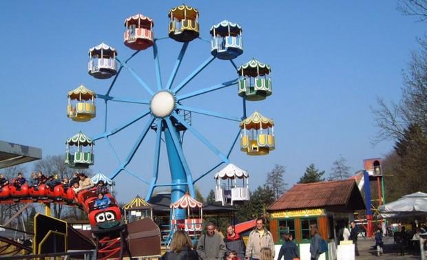 Riesenrad in Schloss Beck