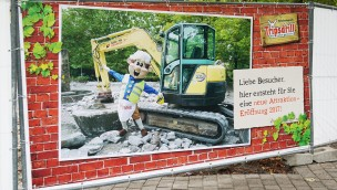 """Erlebnispark Tripsdrill plant neue Attraktion für 2017: """"Wassergarten"""" muss für Neuheit weichen"""