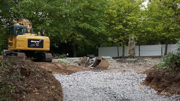 Tripsdrill Neue Attraktion 2017 - Baubeginn