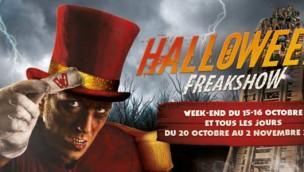 Halloween Freakshow in Walibi Rhône-Alpes 2016