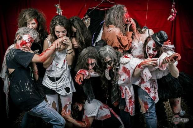 """Monster bei """"Halloween Freakshow"""" in Walibi Rhône-Alpes 2016"""
