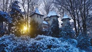 Winter-Efteling - Dornröschen-Schloss