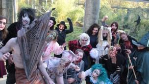 Zoo Osnabrück lässt 2016 beim 1. Halloween-Festival 13 Erschrecker auf die Besucher los