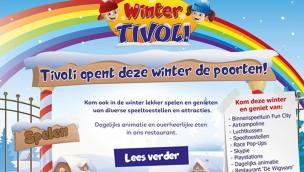 Amusementspark Tivoli Niederlande Winter 2016