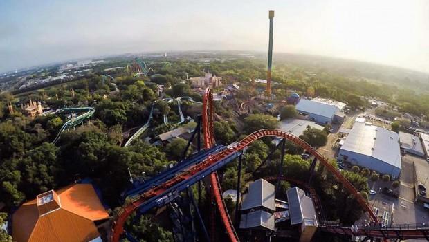 Busch Gardens Tampa Panorama