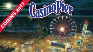 Casino Pier kündigt Euro-Fighter-Achterbahn und Riesenrad als Neuheiten 2017 an