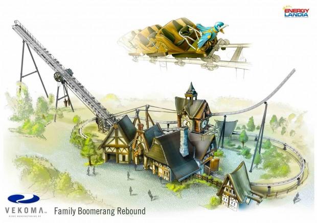 EnergyLandia Family Boomerang Artwork 2017