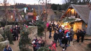 Erlebniswelt SteinReich mit Weihnachtsmarkt 2016 zum 2. Advent