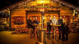 Europa Park Après-Ski-Party Erdinger Urweisse Hütt'n