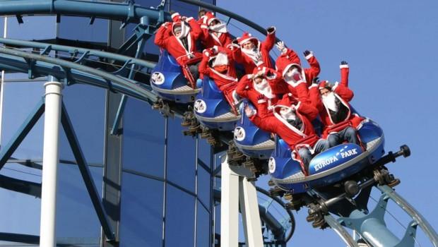 Europa-Park Weihnachtsmänner Euro-Mir