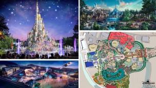 Hong Kong Disneyland enthüllt Masterplan: Neues Schloss, neue Themenbereiche und mehr bis 2023