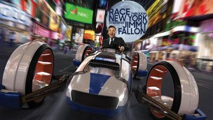 "Jimmy Fallon enthüllt Eröffnungsdatum des Flying-Theater ""Race Through New York"" im Universal Orlando Resort"