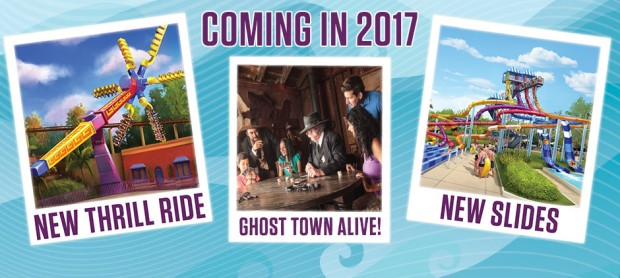 Knott' Berry Farm: Saison 2017