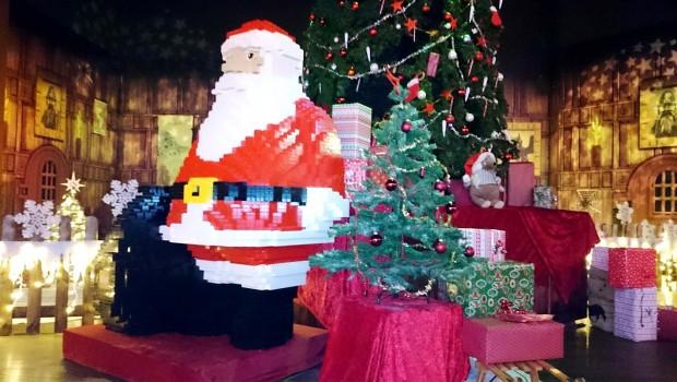 LEGO Weihnachtsmann im LEGOLAND Discovery Centre Oberhausen