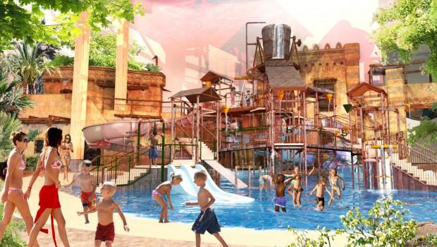 Liseberg Wasserpark Artwork - Wasserspielplatz