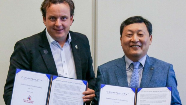 Mack Media Lotte World Coastiality Vereinbarung