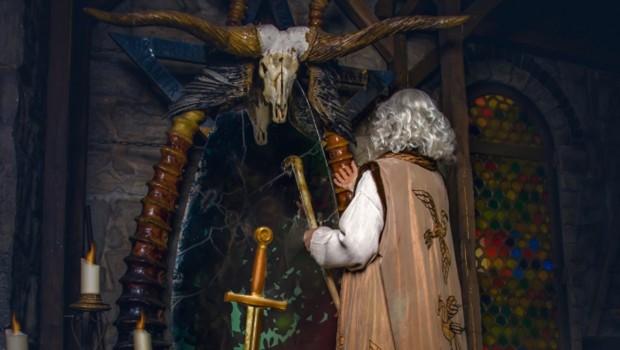 Merlins Zauberspiegel im Filmpark Babelsberg