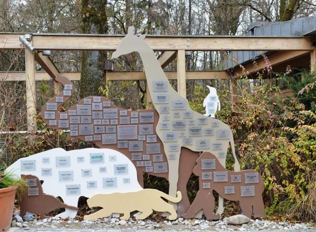 Patentafel - Tierpark Hellabrunn 2016
