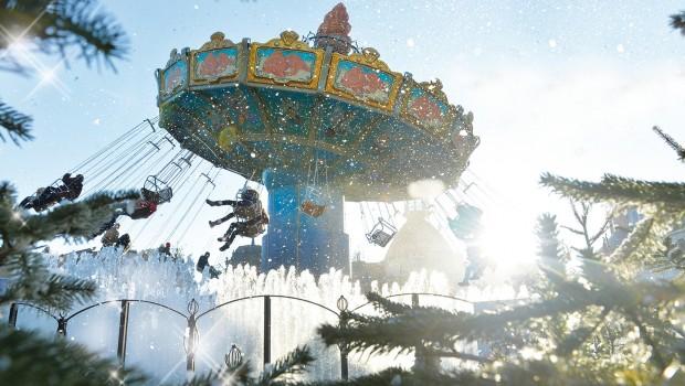 Phantasialand Wintertraum - Kettenkarussell
