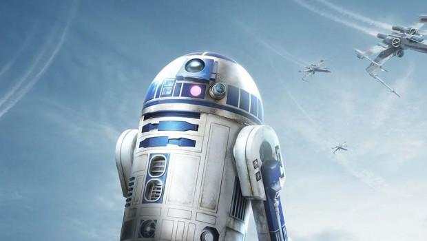 R2D2 - Star Wars Zeit der Macht - Disneyland Paris