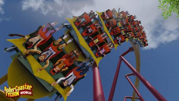 RollerCoaster Tycoon World - Flying Coaster