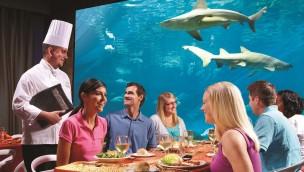 SeaWorld Orlando Unterwasser-Restaurant