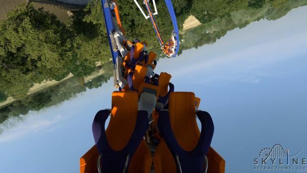 Skywarp Skyline Attractions Konzept - Onride