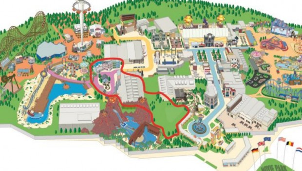 Star Trek Themenbereich Movie Park Germany Parkplan